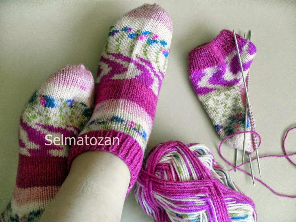 Beş Şişle Çorap Açıklaması