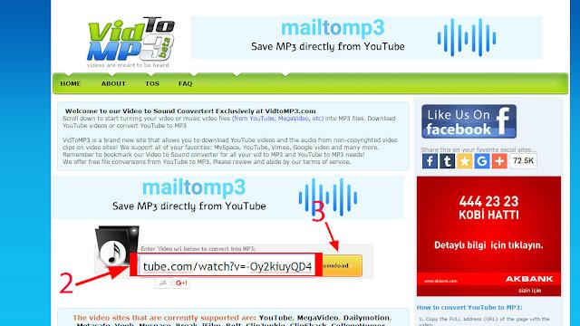تحميل الصوت من اليوتيوب بصيغة mp3
