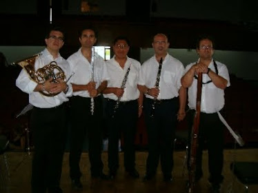 "Quinteto de Viento ""Divertimento""."
