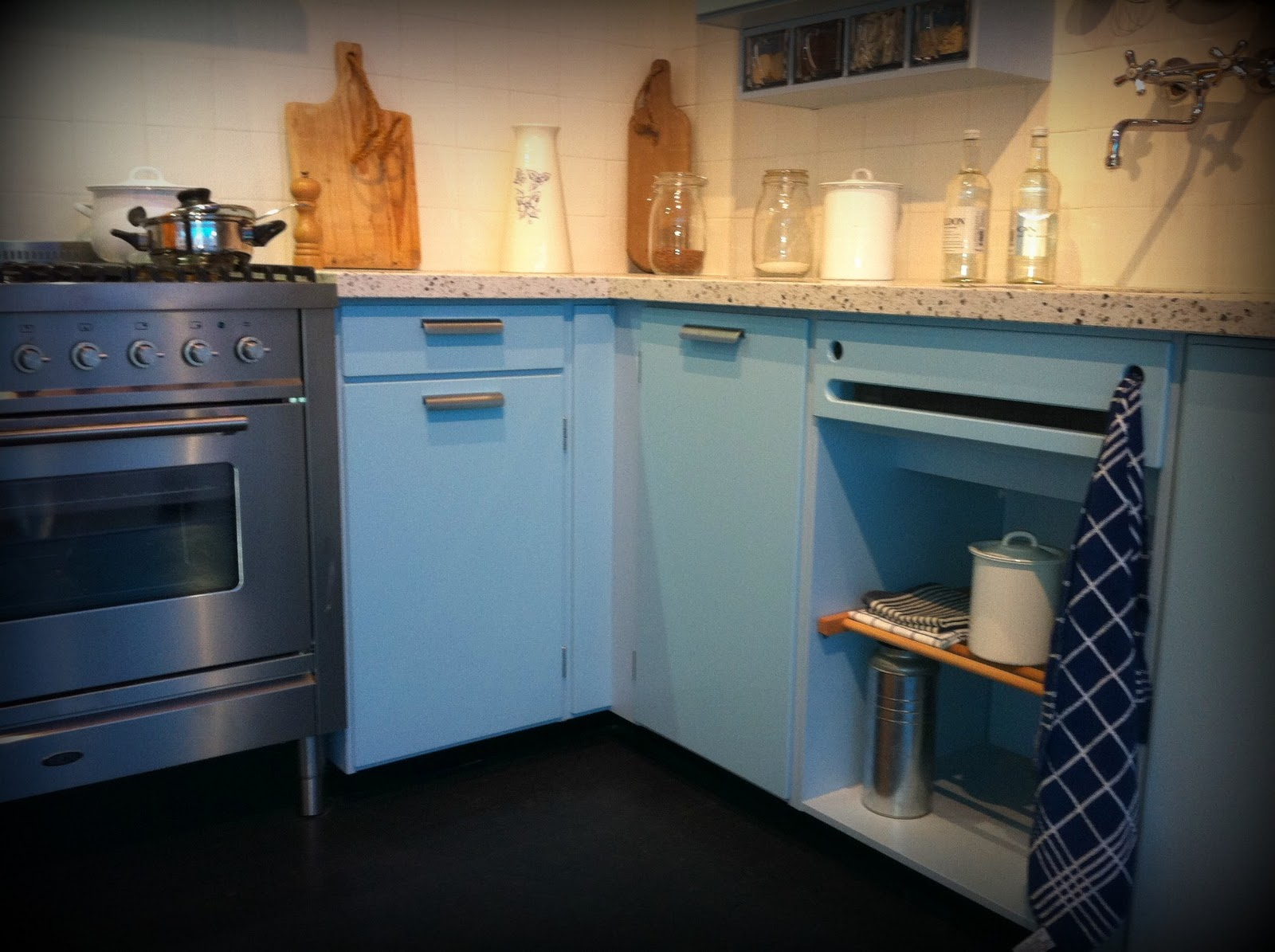 Piet Zwart Keuken Blauw : Piet Zwart