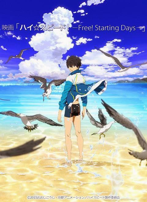 O anime Free! ganhará um filme
