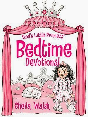 God's Little Princess Bedtime Devotional by Sheila Walsh