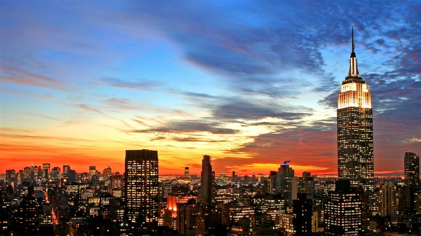 Trololo Blogg New York Skyline Hd Wallpaper