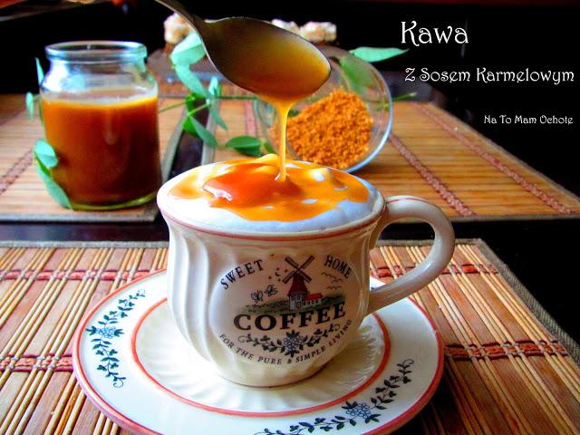 Caramel Cappuccino - Kawa z Sosem Toffi