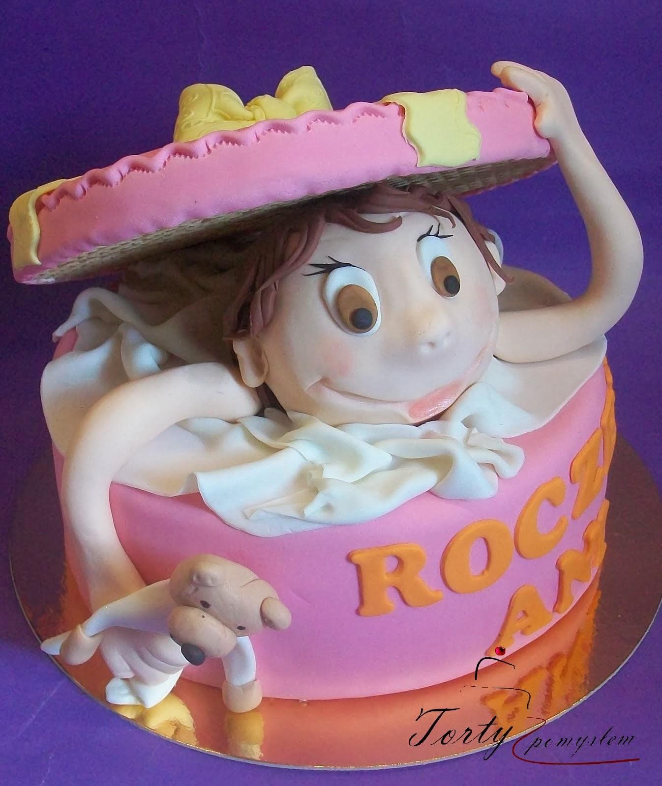 tort niespodzianka z dzieckiem