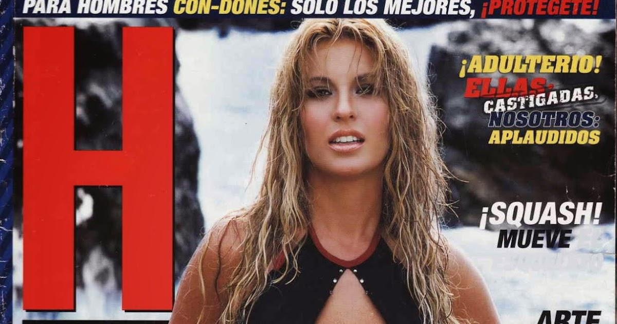 FOTOS: Aura Cristina Geithner en la Revista H Extremo