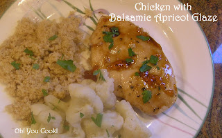 ... ! You Cook!: Baked Chicken Breasts with Balsamic Apricot Glaze - Easy