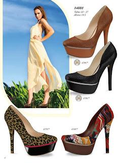zapato etnico de andrea verano 2013