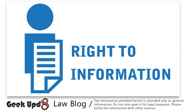 The Right To Information Act, 2005 :Geek Upd8 Bare Acts Collection