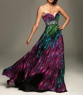 modelo de vestido longo estampado para noite - dicas, fotos e modelos