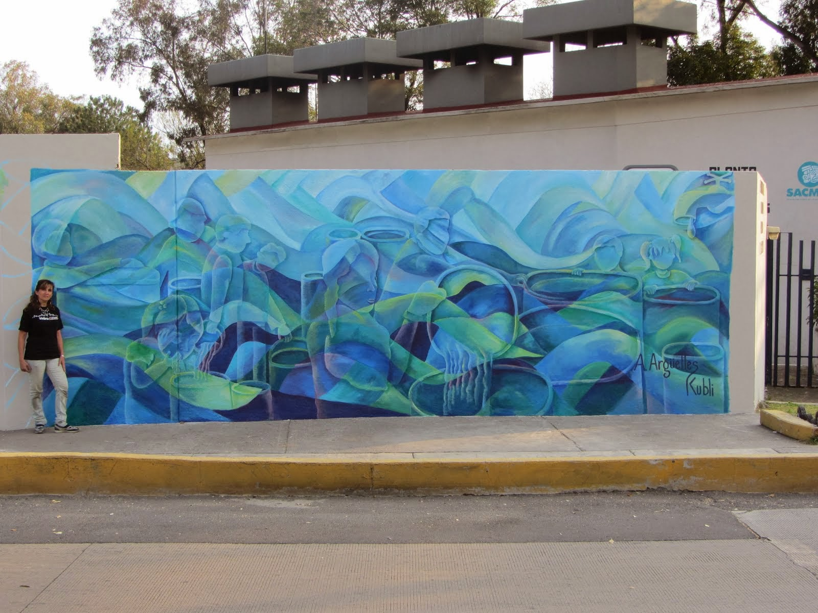 Mural de SACMEX