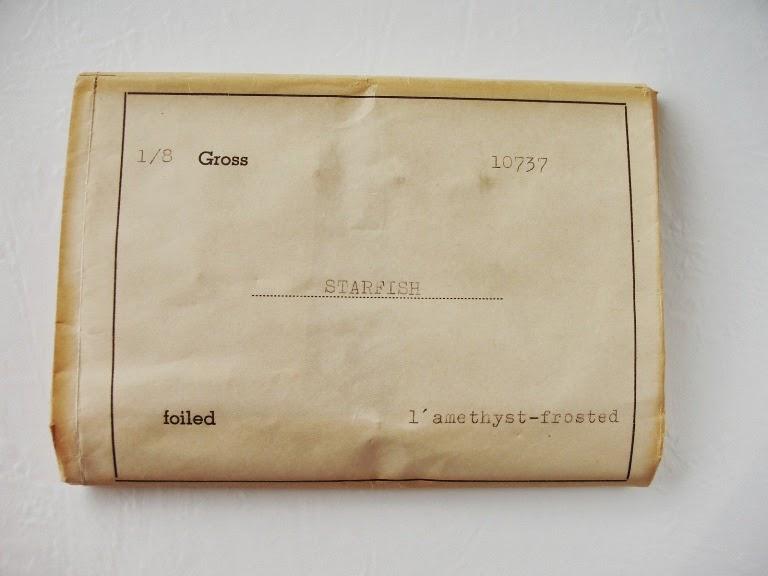 Imported to US original Package Antik glas Steine de verre