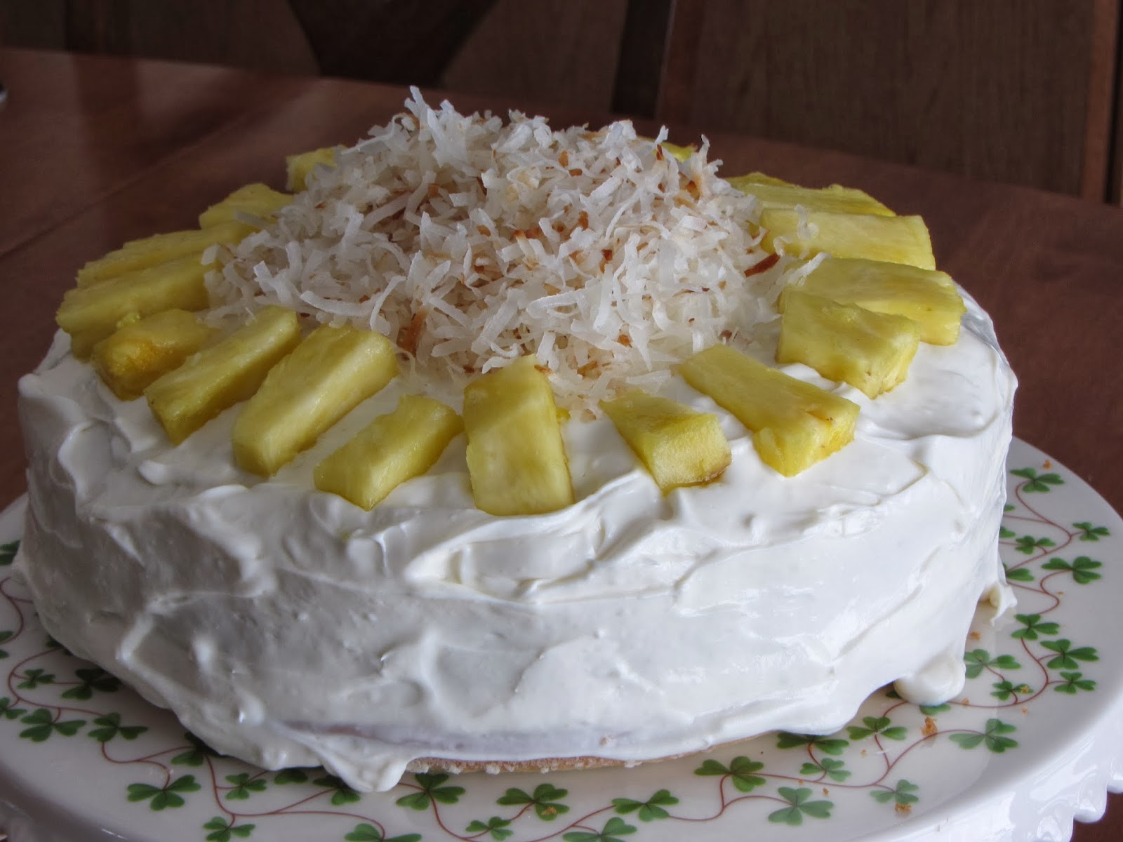 pineapple layer cake flickr photo sharing coconut pineapple layer cake ...