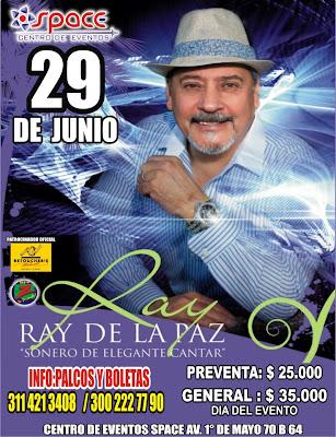 ► Ray de la Paz en Bogotá