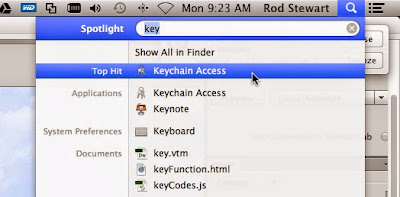 How to Display WiFi Password Stored In Keychain On OS X Mavericks