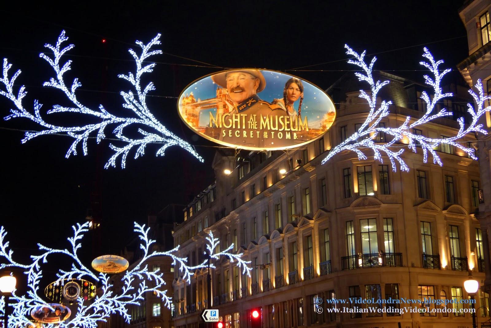 Illuminazione Natale Londra : Vacanze di Natale a Londra ... Regent ...