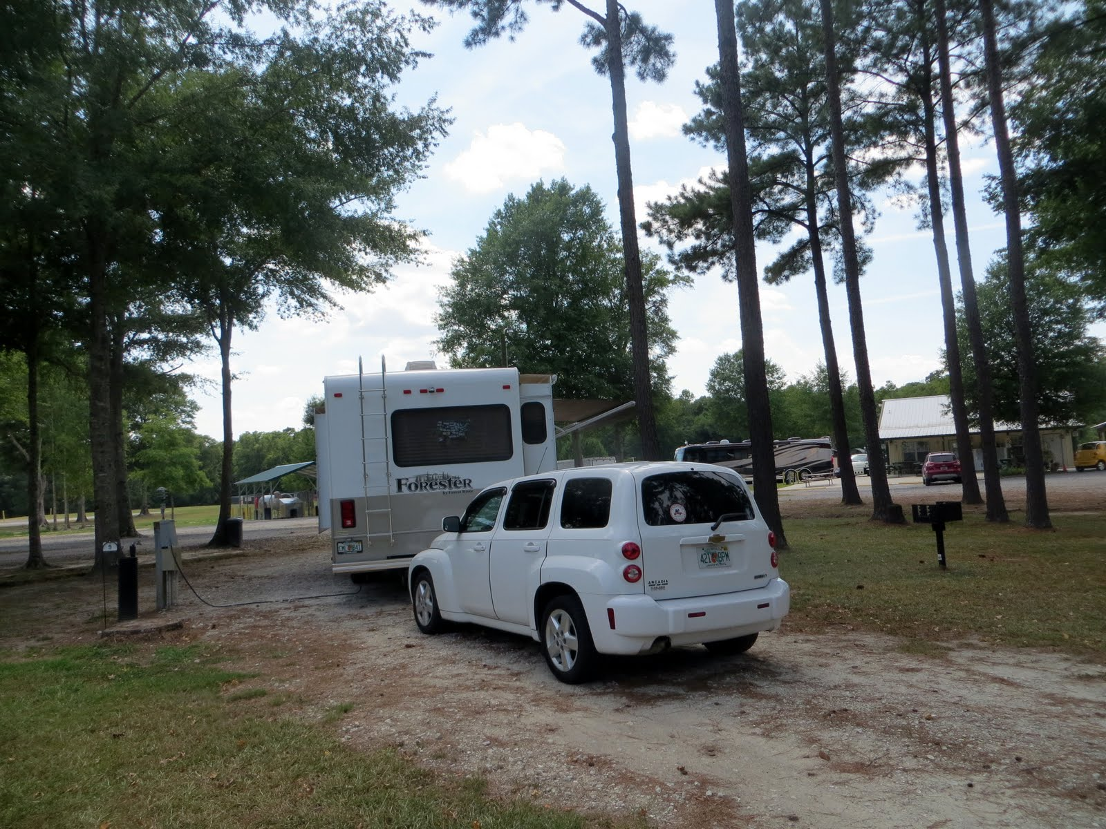 Bob And Linda S Rv Travels Jolly Acres Rv Park St George Sc