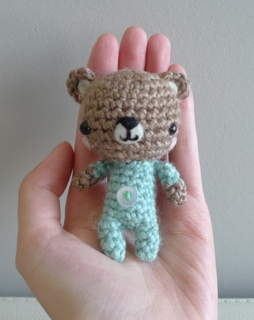 2000 Free Amigurumi Patterns: Baby P.J. Teddy Amigurumi ...