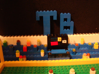 Tampa Bay Rays - Tropicana Filed - Lego Micro Creation