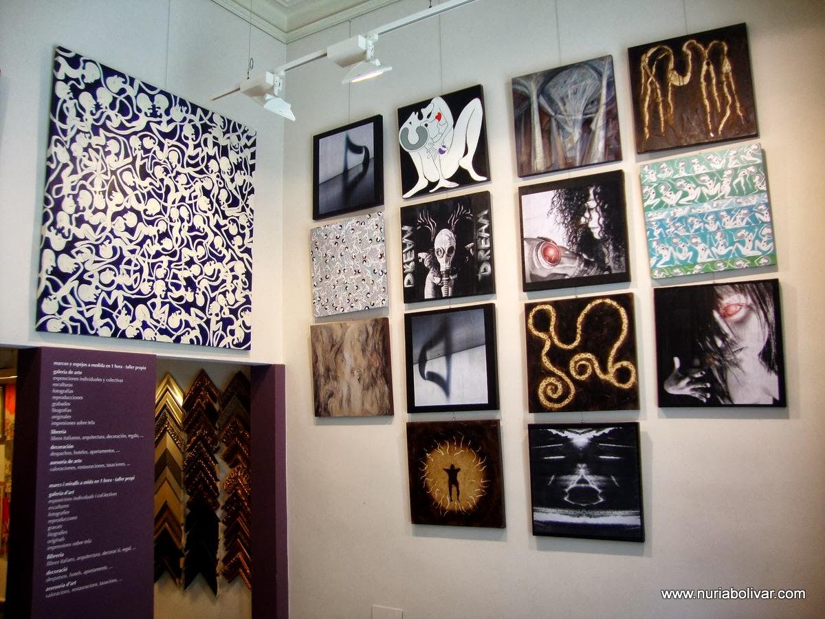 """""""SUEÑO Y REALIDAD"""" del grup 20PUNTOCERO a la galeria Sennacheribbo de Barcelona"""