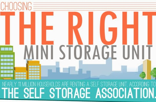 Image: Choosing The Right Mini Storage Unit