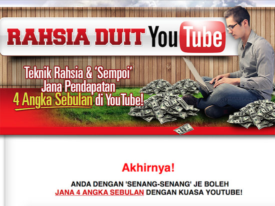 Tips buat duit dengan Youtube