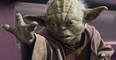 Yoda, Star Wars, Star Trek, mind-meld, Vulcan salute, Jedi