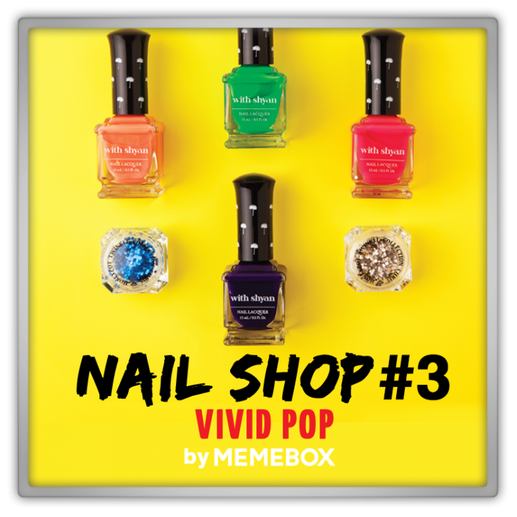 Memebox Nail Shop #3 Vivid Pop 미미박스 Commercial