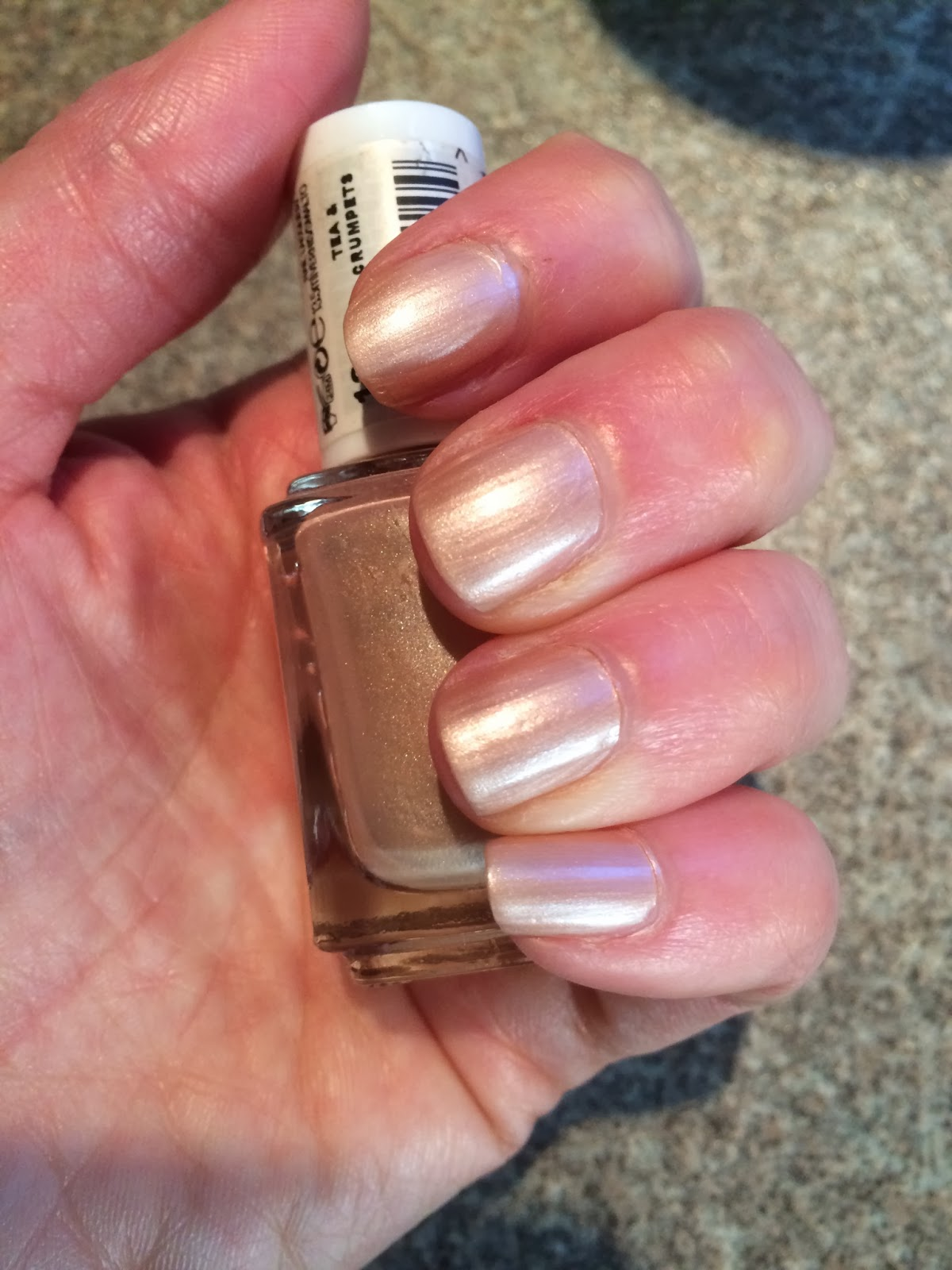 Beauty By Jenny: Essie Tea and Crumpets Nail Polish Review