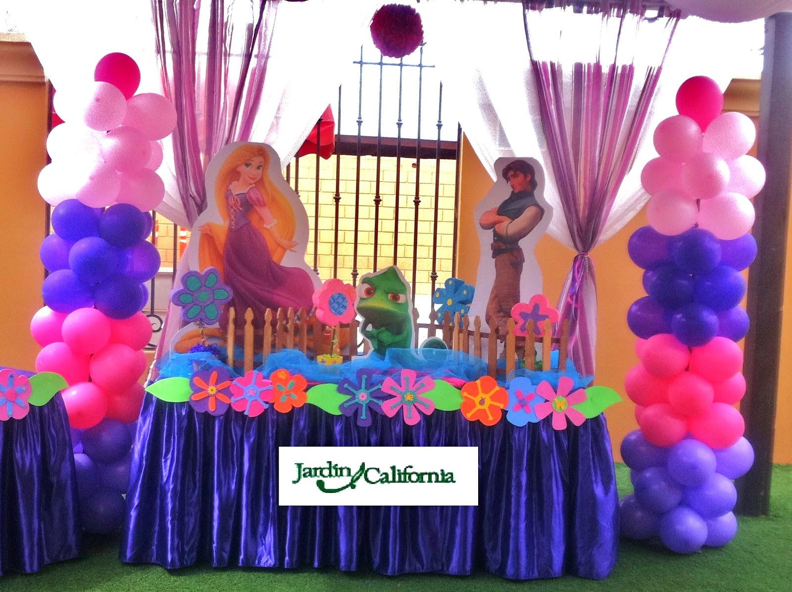 Decoracion Rapunzel Enredados ~ Fotos Decoracion Fiestas Infantiles Enredados Rapunzel