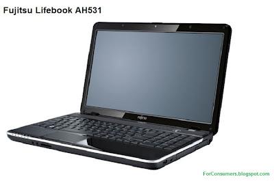 Fujitsu AH531 laptop review