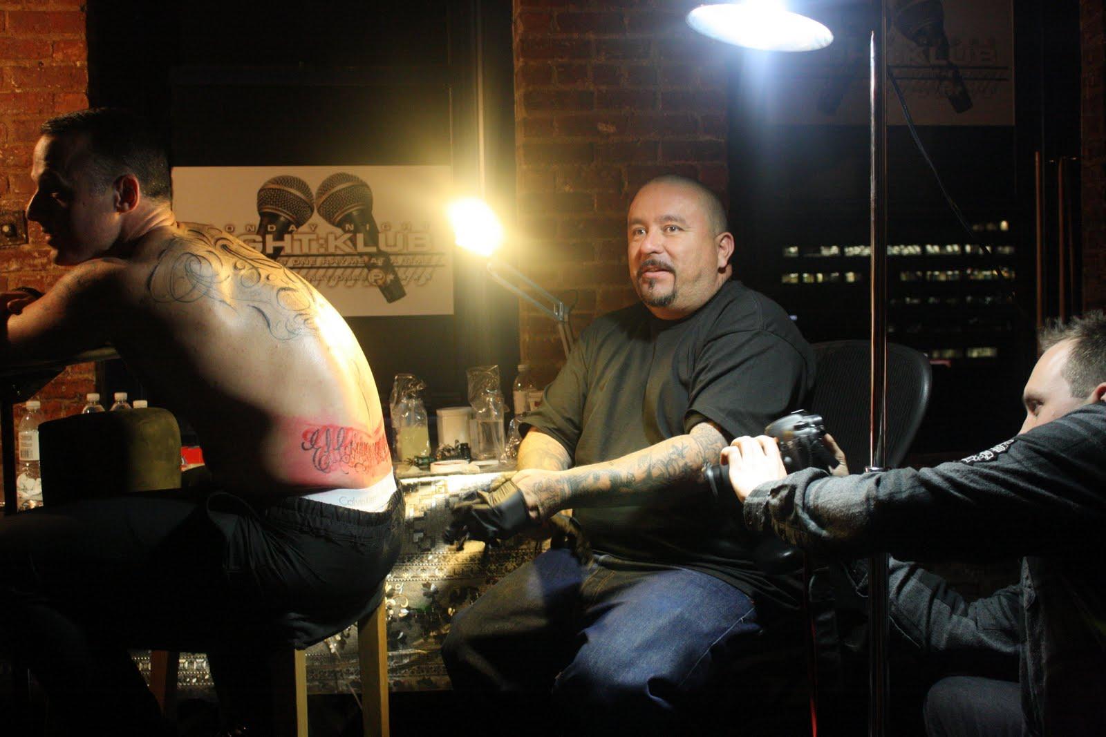 David Beckham's Tattoo On Her