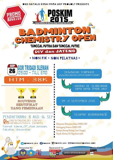 Info lomba badminton