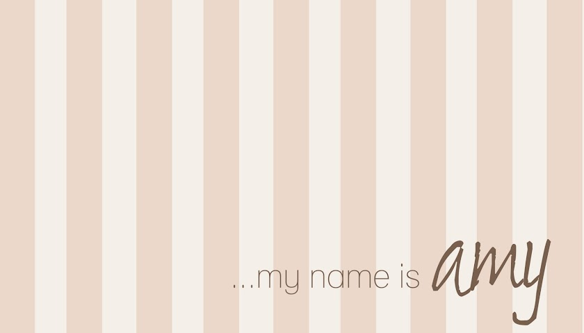 my name is amy