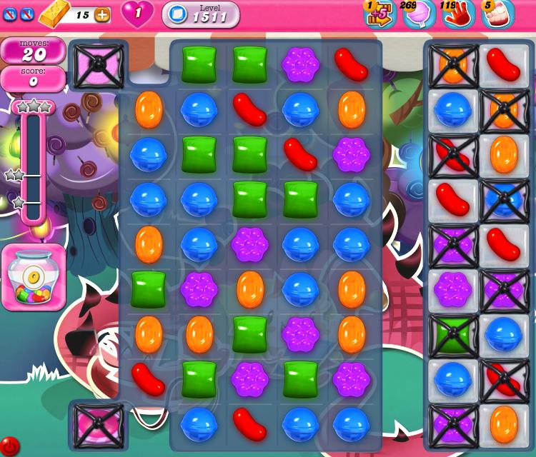 Candy Crush Saga 1511