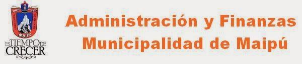 Administración y Finanzas Municipalidad de Maipú