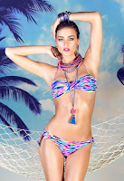 Serbian model Sofija Milosevic sexy bikini body for Extreme Intimo swimwear models photo