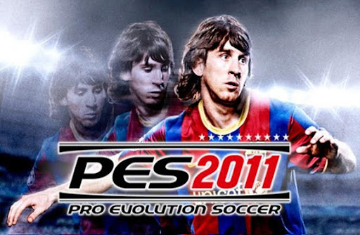 Lionel Messi was the cover star for Pro Evolution Soccer 2011