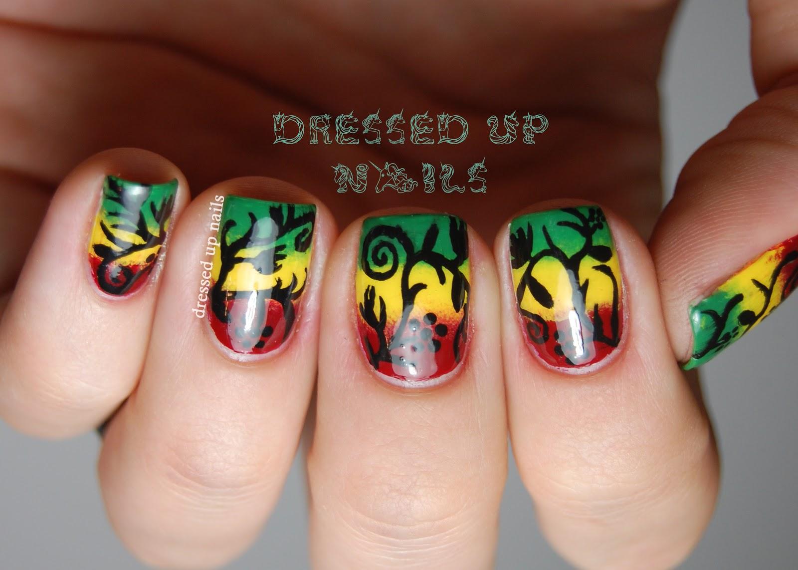 Rasta nail designs gallery nail art and nail design ideas rasta nail designs image collections nail art and nail design ideas rasta nail design images nail prinsesfo Choice Image