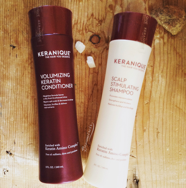 Keranique Clean & Condition Set review: Scalp Stimulating Shampoo and Volumizing Keratin Conditioner