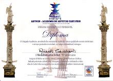 Medalha Carlos Scliar - ARTPOP - Cabo Frio