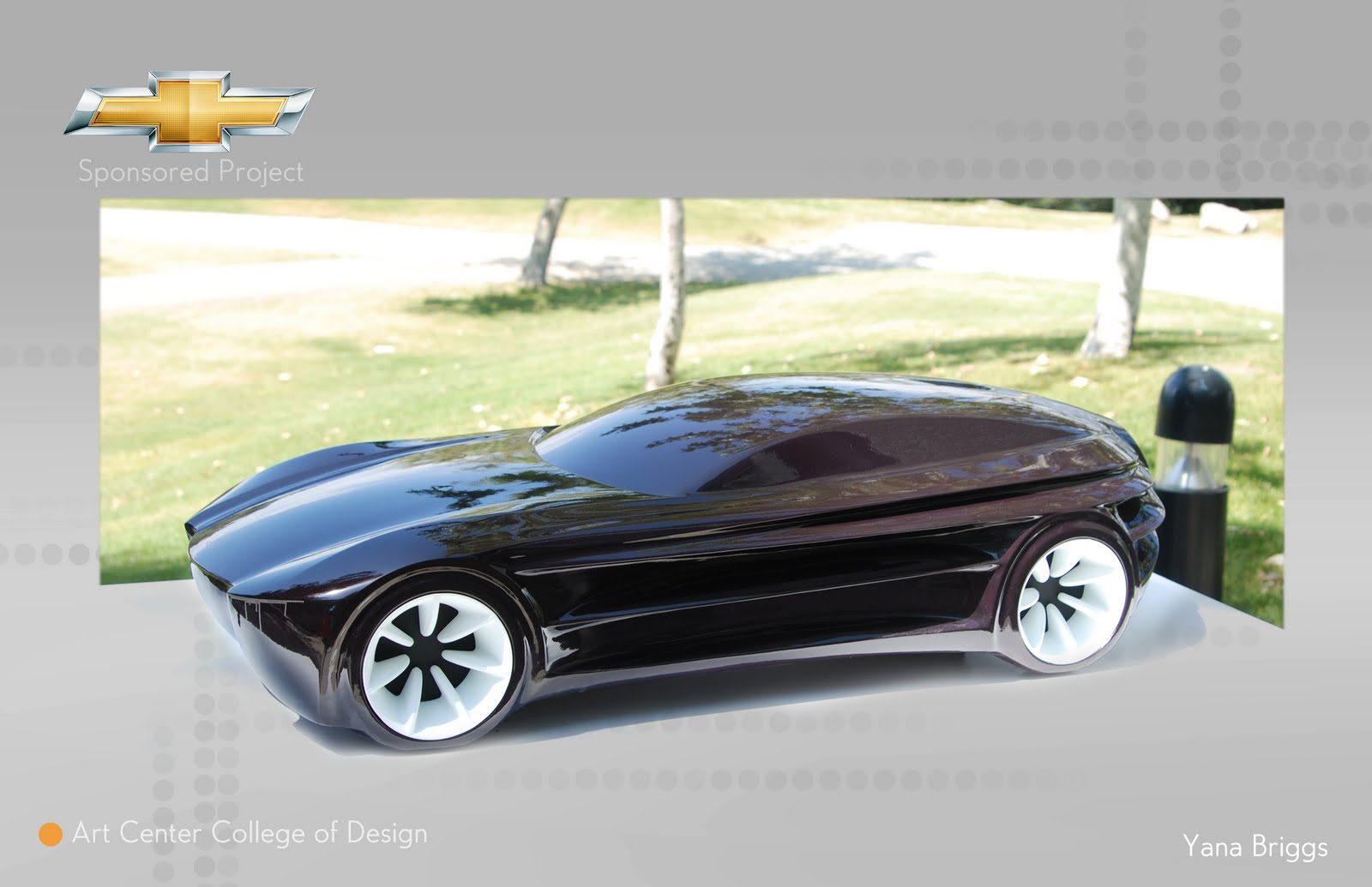 Solar Vehicle inspired design.