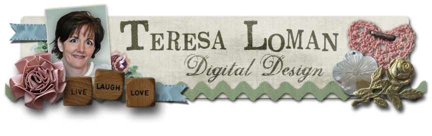 Teresa Loman, Senior Designer, Digital Scrapbook Place
