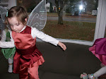 Fast flying fairies on Halloween