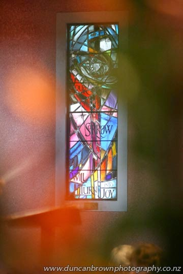 Your sorrow will turn into joy, Waiapu Anglican Cathedral of St John the Evangelist, Napier photograph