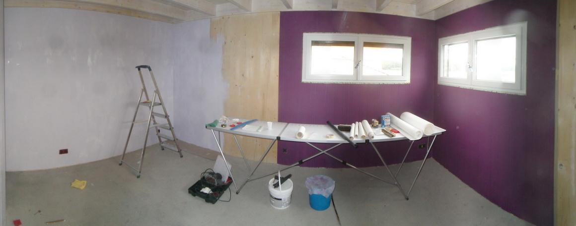 notre maison passive au pays des 3 fronti res lorraine chambre romane 2. Black Bedroom Furniture Sets. Home Design Ideas
