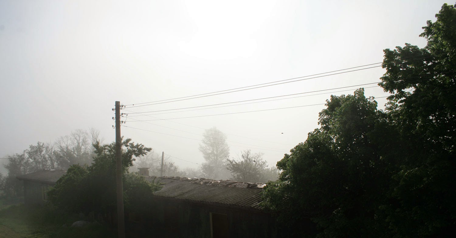 Another foggy start