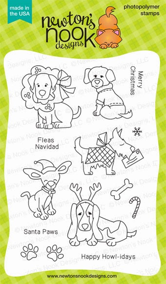Canine Christmas Set from Newton's Nook Designs