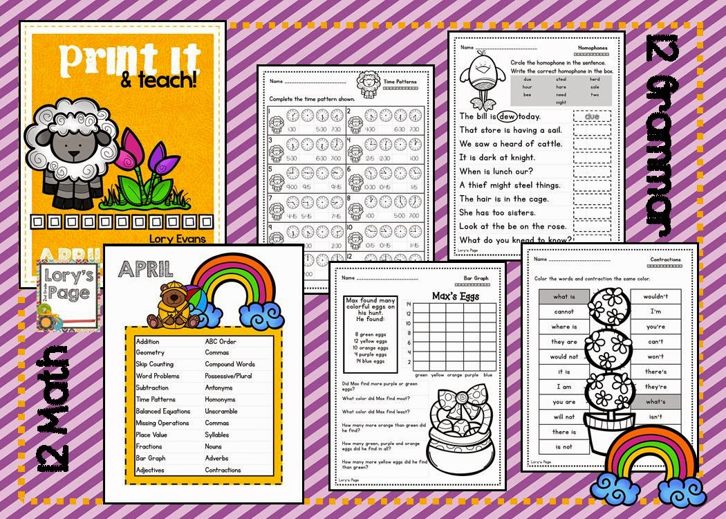 https://www.teacherspayteachers.com/Product/PRINT-it-Teach-APRIL-1175730
