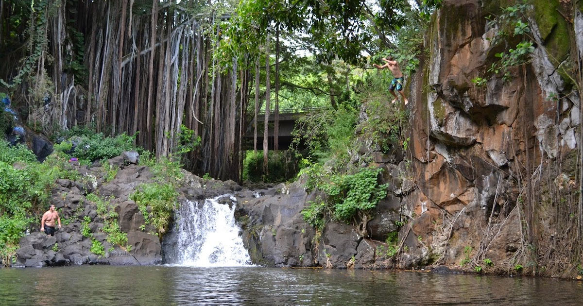 Family Travel Blog Hawaii Daily Photo Taking A Leap At